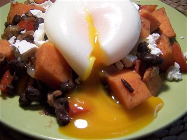 Sweet Potato & Black Bean Hash