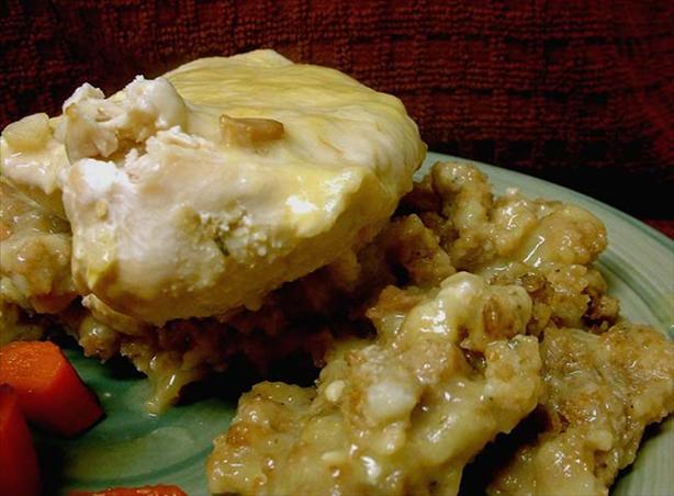 Chicken N' Stuffing Casserole