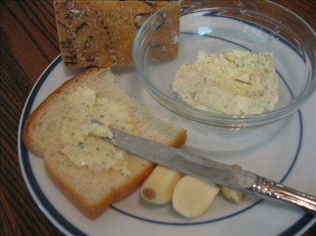 Garlic Cheese Herb Butter