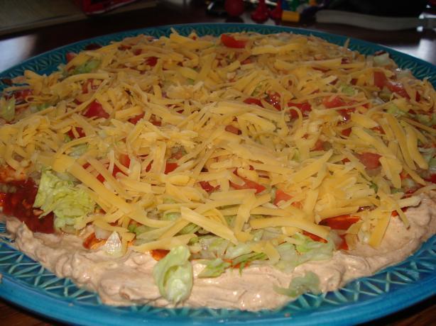 B's Taco Dip (Meatless)