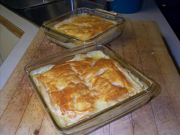 Chicken Pot Pie W/ Puff Pastry