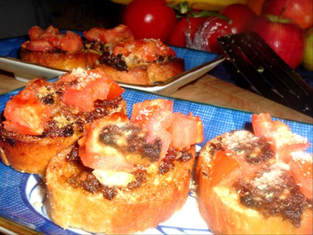 Anchovy & Sun-Dried Tomato Bruschetta