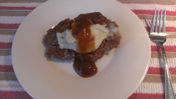Easy Slow Cooker Mashed Potato Stuffed Meatloaf #5FIX