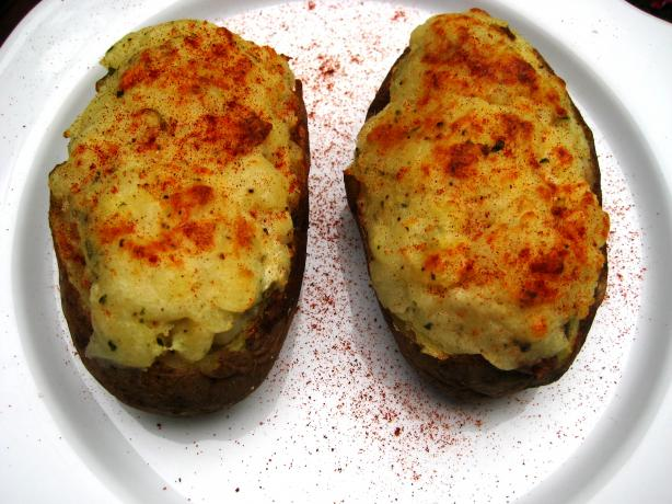 Twice-Baked Potatoes With Blue Cheese and Rosemary