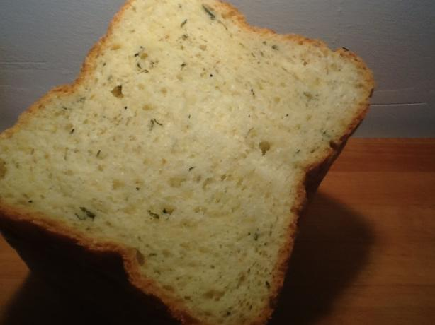 Herbed Green Onion Bread (bread Machine)