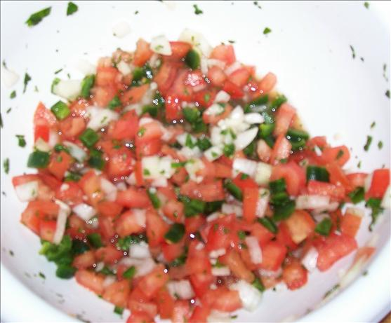 Salsa Mexicana (Fresh Tomato and Chiles)