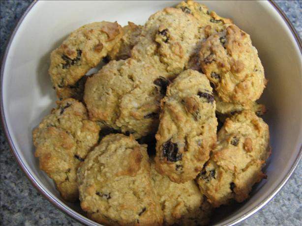 Soft Raisin Cookies
