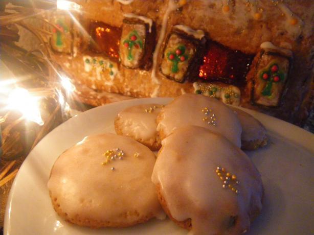 Rum Raisin Spice Cookies