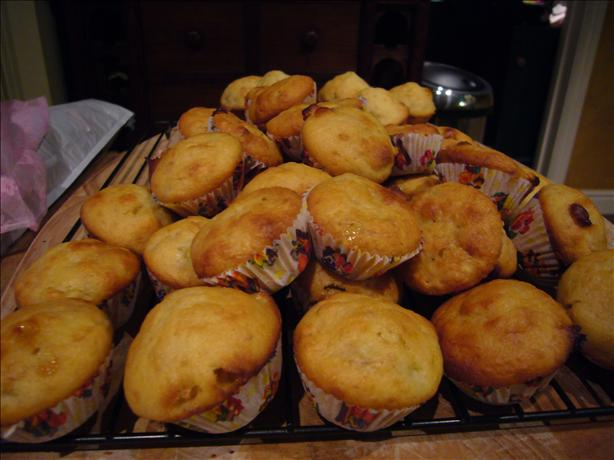 Banana Chocolate Mini-Muffins