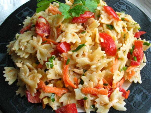 Healthy Tuna & Pasta Salad