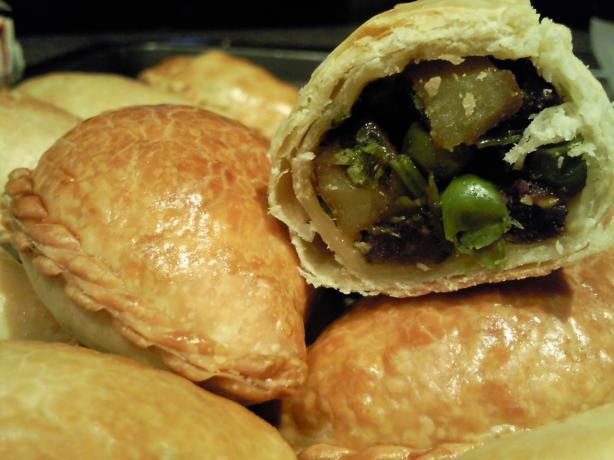 Oven Baked Vegetarian Samosas