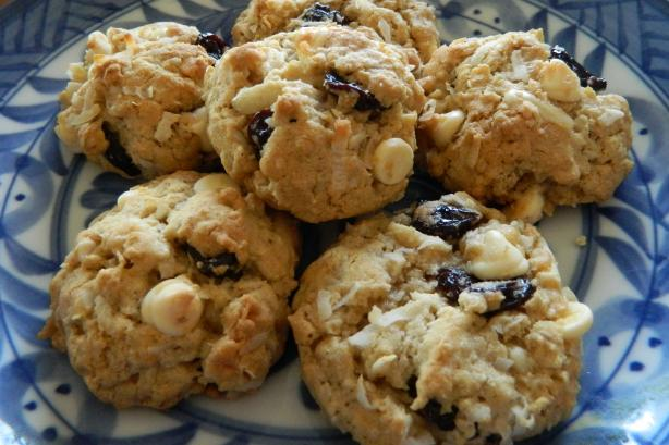 Chewy Cherry Almond Cookies