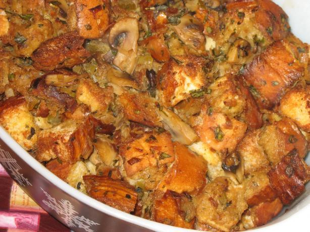 Caramelized Onion and Mushroom Stuffing