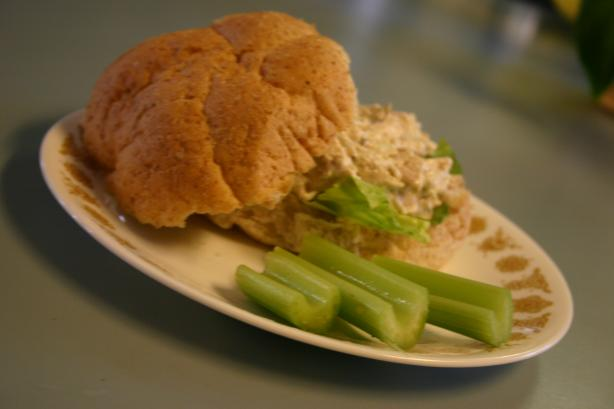 Easy Quick Delicious No-Mayonnaise Chicken Salad