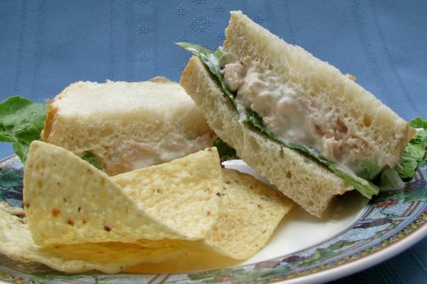 Easy Chicken Salad Sandwich