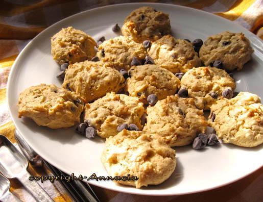 Orange Chocolate Drop Cookies