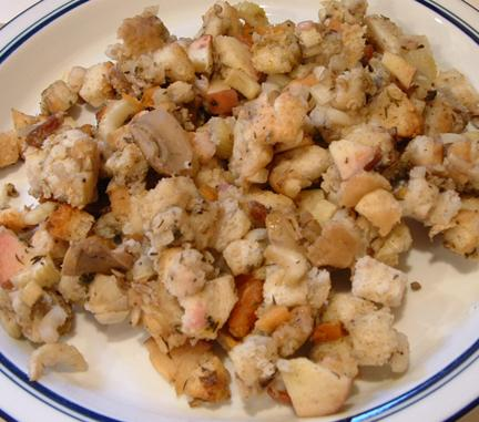 Turkey Stuffing With Very Low Sodium