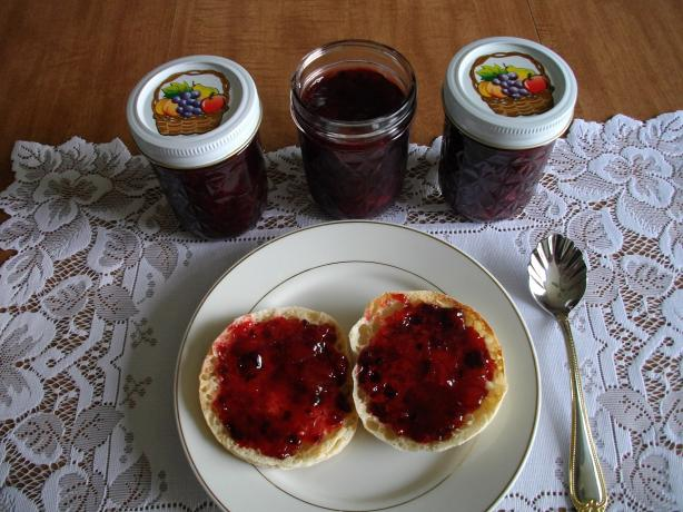 Rhubarb Blackberry Jam