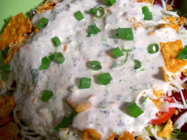 Green Goddess-Chive Salad Dressing