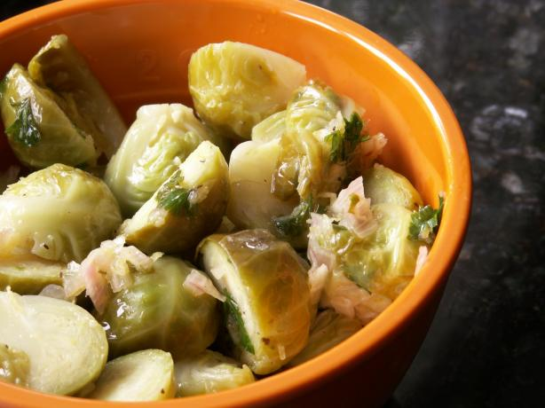 Marinated Brussels Sprouts With Lemon