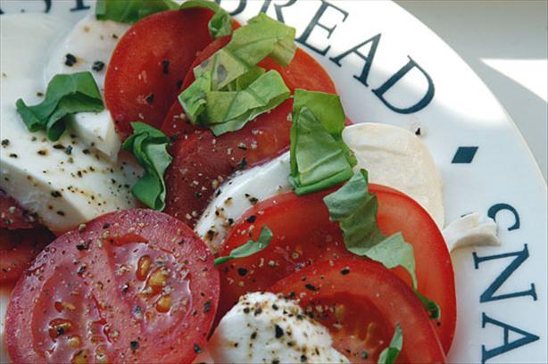 Fresh Mozzarella-Tomato-Basil Salad