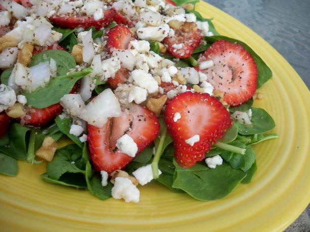 Strawberry & Bleu Cheese Salad