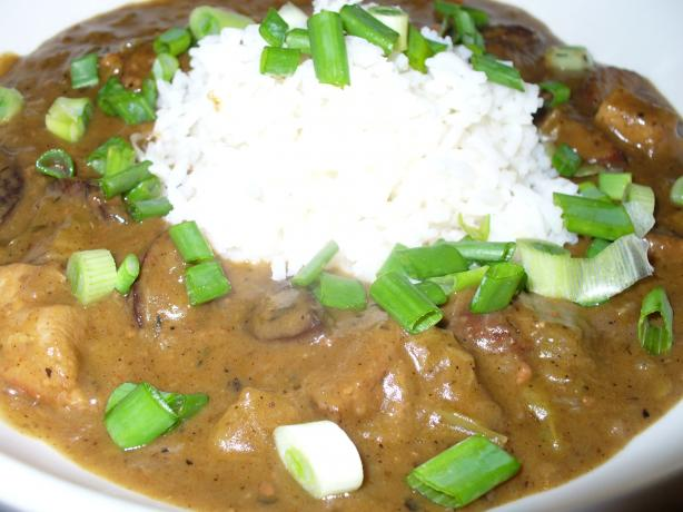 Chicken and Sausage Gumbo- OAMC Directions Included