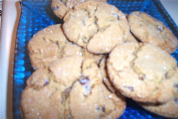 Raisin Molasses Cookies
