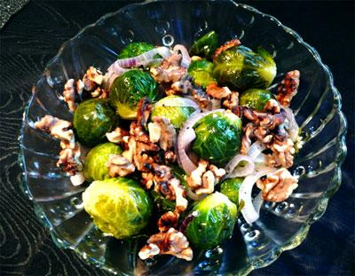 Walnut Brussels Sprouts