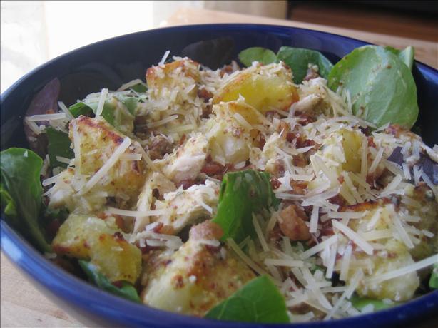 Warm Chicken, Bacon & Potato Salad