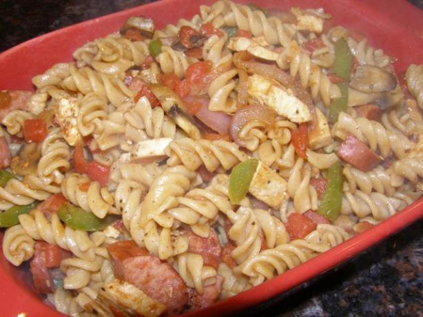 Cajun Chicken-Sausage Pasta