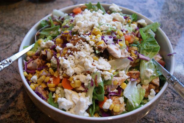 Chicken Cranberry Pecan Salad