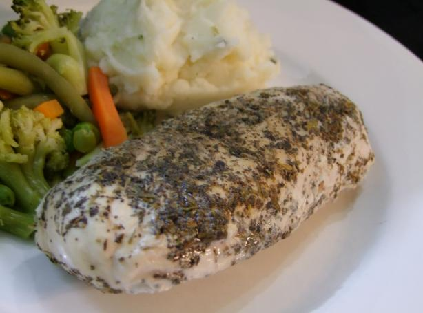 Simple Herb Baked Chicken Breast (Ibs O.k.)