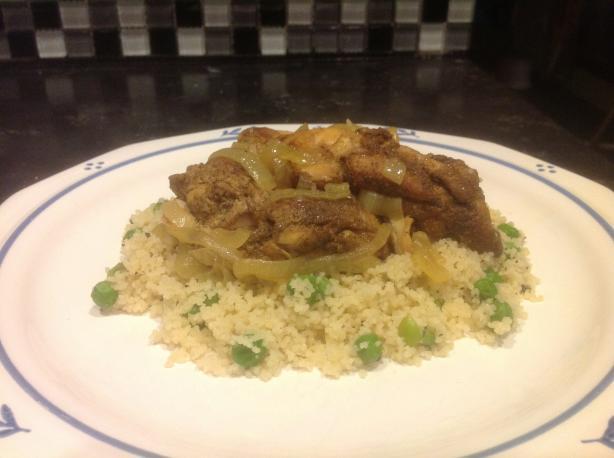 Ras El-Hanout, Moroccan Spiced Chicken