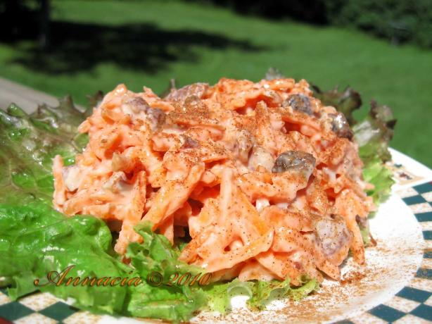 """s Wonderful Carrot and Raisin Salad"