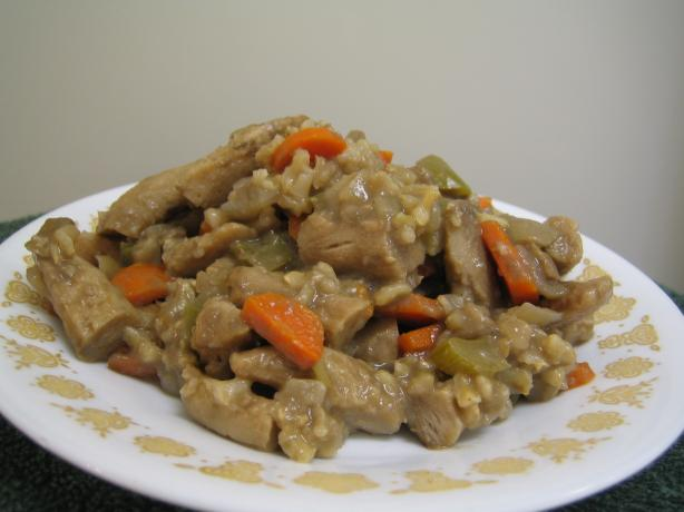 Mom's Delicious Chicken Rice Casserole