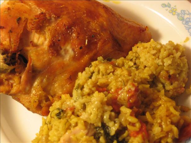 Exotic Chicken & Rice Casserole