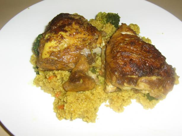 Chicken Couscous One Pot