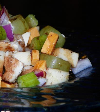 Chicken Salad With Raspberry Vinaigrette