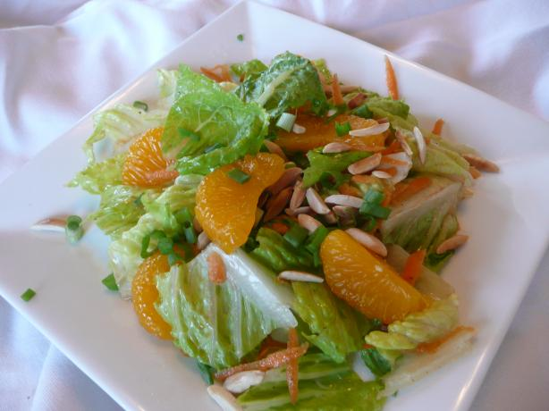 Mandarin Orange Chicken Tossed Salad