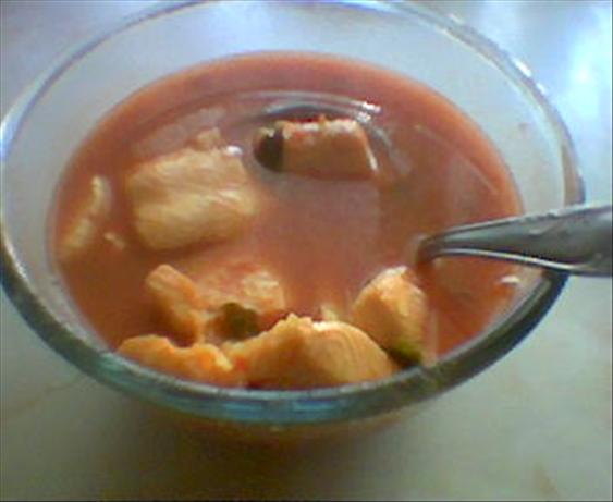Tom Yum (spicy Thai Soup)