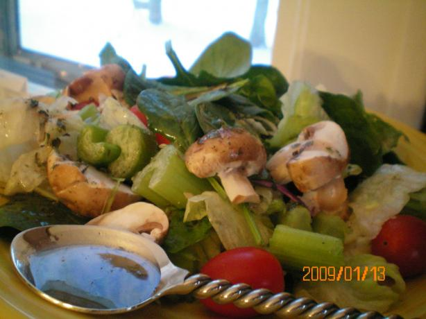 Green Salad With Herb Vinaigrette
