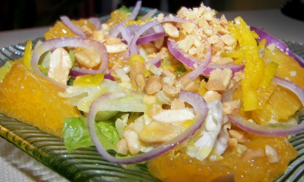 Orange and Peanut Salad