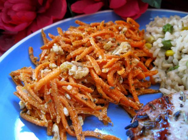Spiced Carrot Salad (Greek)