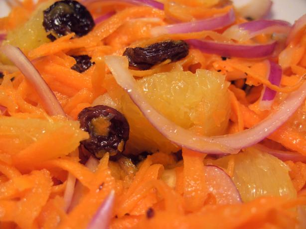 Lebanese Carrot and Orange Salad