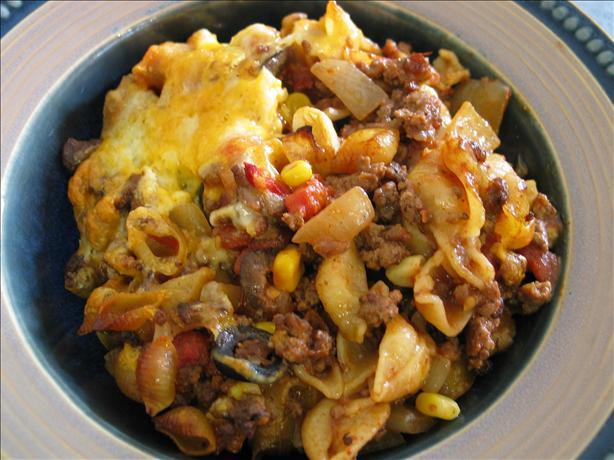 Beef & Corn Noodle Casserole