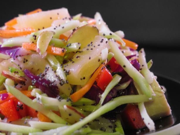 Chicken Salad W/ Pineapple Poppy Seed Vinaigrette