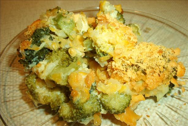 Corn & Broccoli Casserole