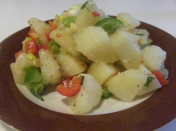Warm Potato Salad With Italian Dressing