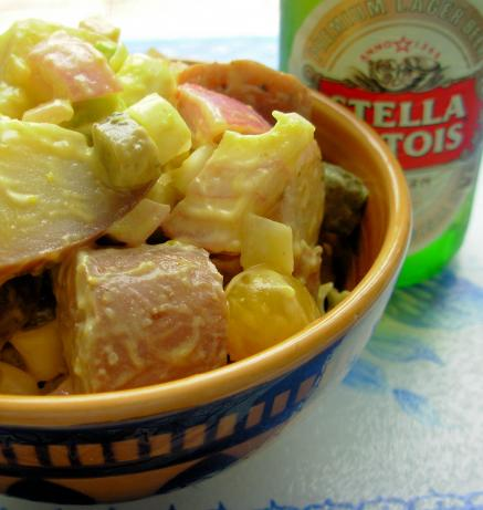 Warm Potato Salad With Beer and Mustard Dressing